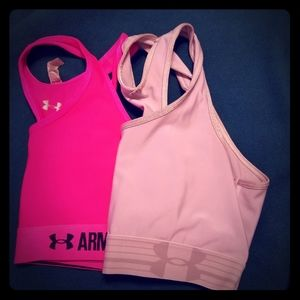 Set of 2 Under Armour Sports Bras